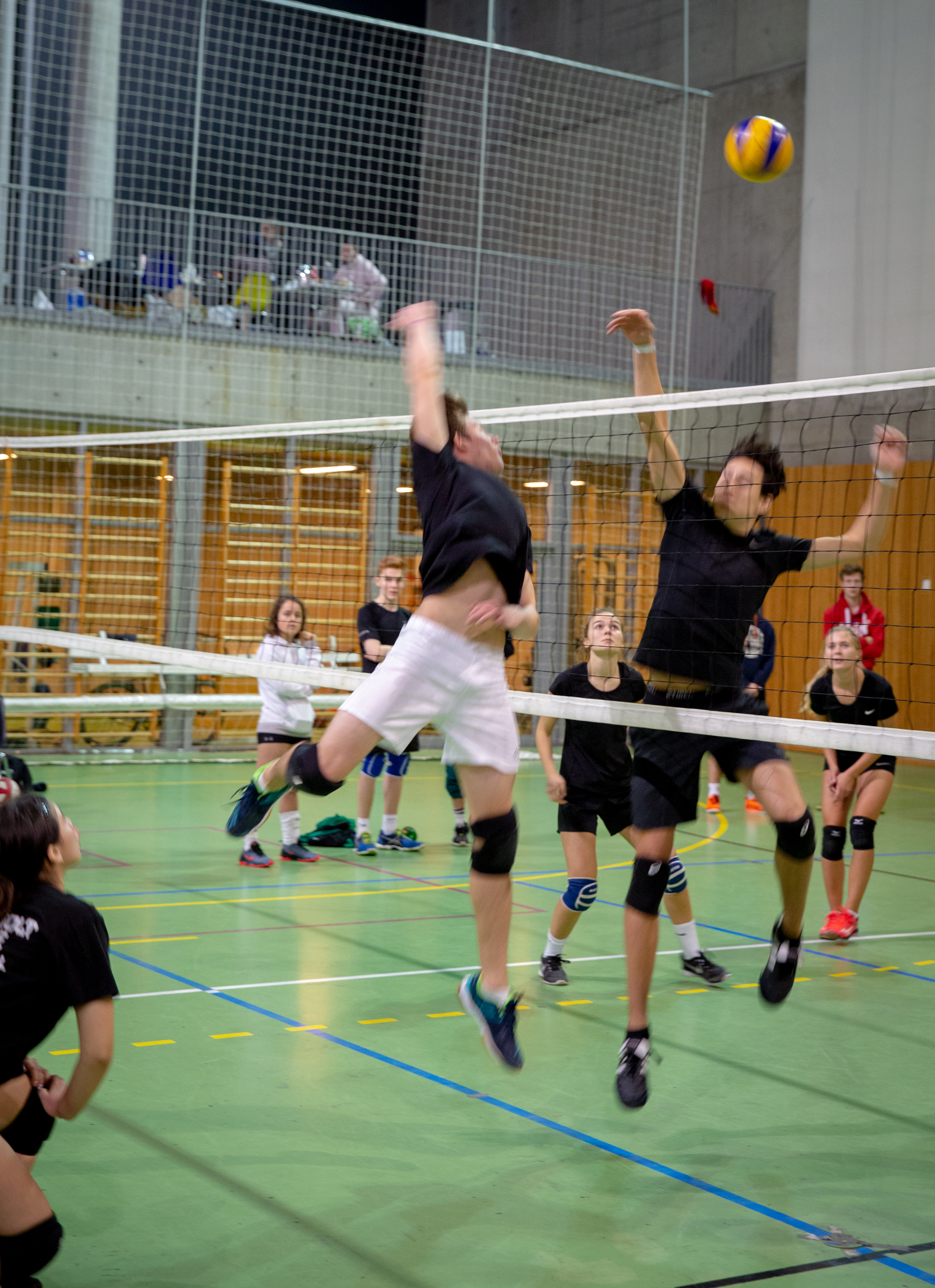 Spillsekvens volleyball